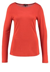 More And More Long Sleeved Top Burnt Orange