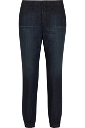 Rag And Bone Pajama Low Rise Tapered Jeans Blue
