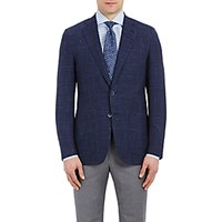 Isaia Men's Plaid Gregory Sportcoat Blue