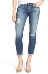Ag Jeans Women's Ag 'The Stilt' Roll Cuff Skinny Jeans 4 Years Destroyed