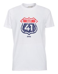 Jeep Cotton Graphic Tee White