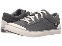 Teva Freewheel Washed Canvas Black Grey Women's Shoes