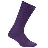 John Lewis Made In Italy Cashmere Socks Purple