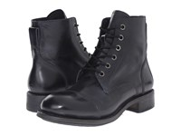 John Varvatos Vintage Lace Boot Black Multi Men's Lace Up Boots