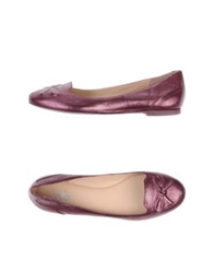 Belle By Sigerson Morrison Moccasins Purple