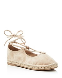 Catherine Malandrino Lace Up Espadrille Flats Compare At 71 Natural