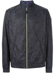 Etro Reversible Windbreaker Black
