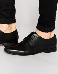 Kg By Kurt Geiger Edmenton Derby Shoes In Leather Black