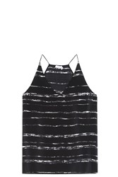 Vince Striped Camisole Black
