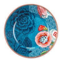 Pip Studio Spring To Life Plate Blue Small