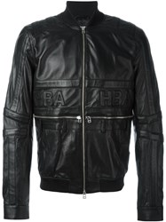 Hood By Air Embossed Logo Jacket Black