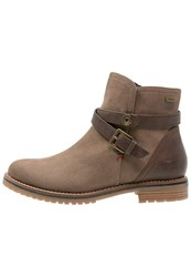 Tom Tailor Ankle Boots Sand Taupe