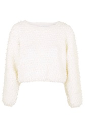 Mallow Loops Fluffy Jumper By Jovonna Cream
