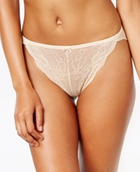 Maidenform All Over Cheeky Lace Tanga Dm0008 Latte Lift