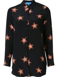 Mih Jeans Star Print Shirt Black