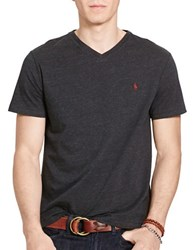 Polo Ralph Lauren Relaxed Fit V Neck T Shirt Black