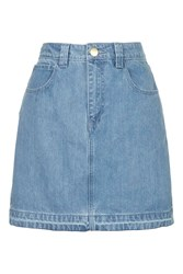 Draycott Denim Skirt By Unique Bleach