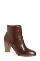 Tamaris Women's 'Lim' Pointy Toe Bootie Muscat Leather