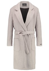 Maison Scotch Classic Coat Oatmeal Melange Grey