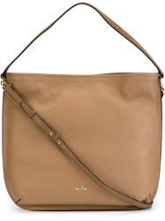 Hogan Hobo Tote Nude And Neutrals
