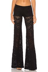 Nightcap Spanish Lace Bells Pant Black