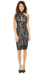 Lover Mia Twist Dress Black