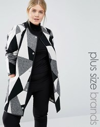 Junarose Patched Coat Multi