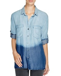 4Our Dreamers Ombre Chambray Shirt Light Blue Ombre