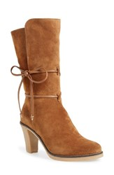 Women's Johnston And Murphy 'Jeanie' Mid Calf Boot 3 1 2' Heel