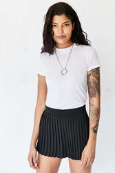 Silence And Noise Remy Pleated Skort Black