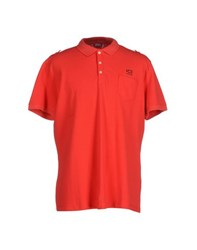 Ice Iceberg Topwear Polo Shirts Men Red