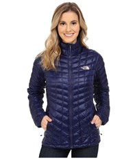 The North Face Thermoball Full Zip Jacket Patriot Blue Women's Coat Navy