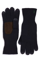 Polo Ralph Lauren Men's Merino Wool Tech Gloves