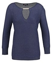 Morgan Jumper Marine Dark Blue