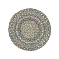 Braided Rug Company Placemats Set Of 6 Seaspray