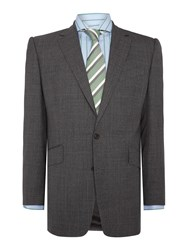 Chester Barrie New Albemarle Tropical Worsted Suit Grey