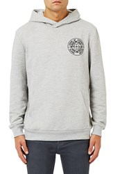 Topman Men's 'Omega' Embroidered Hoodie