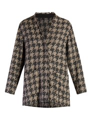 Isabel Marant Jameson Tweed Jacket Grey Multi