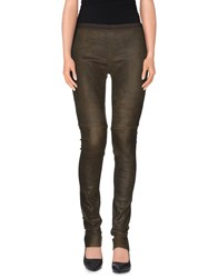 Ilaria Nistri Trousers Leggings Women Dark Green