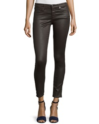 Ag Adriano Goldschmied Legging Ankle Leatherette Light Bitter Chocolate