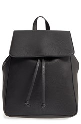 Sole Society 'Iver' Faux Leather Drawstring Backpack
