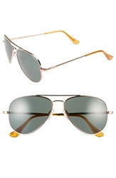 Randolph Engineering 'Concorde' 57Mm Aviator Sunglasses Rose Gold Agx Lens