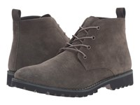 Kenneth Cole Lug Xury Dark Grey Men's Lace Up Boots Gray