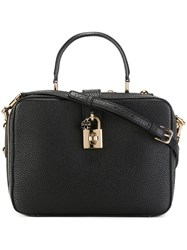 Dolce And Gabbana Soft 'Dolce' Tote Black