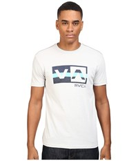 Rvca Session Balance Box Tee Cool Grey Men's T Shirt Gray