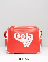 Gola Classic Redford Messenger Bag In Red Red Multi