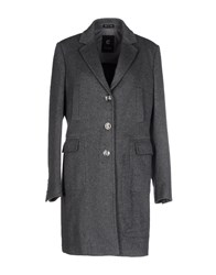 Calvaresi Coats And Jackets Coats Women Grey