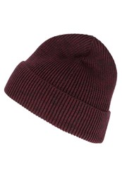 Gap Marl Hat Burgundy Heather Mottled Bordeaux