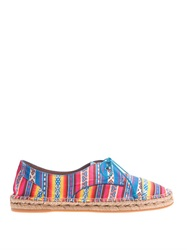 Tabitha Simmons Dolly Lace Up Espadrilles