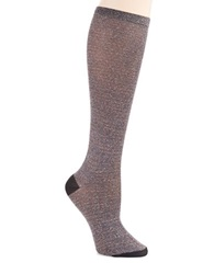 Kate Spade Sparkle Knee Hi Socks Black Multi
